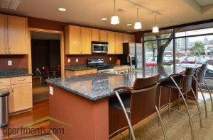 Gaslight Loft Apartments - kitchen