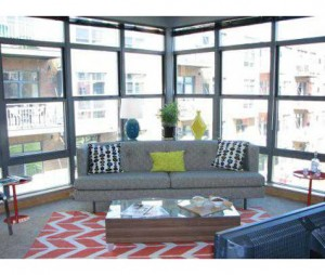Gaslight loft apartments - sunroom