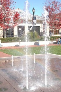 Bayshore Place Apartments- fountain