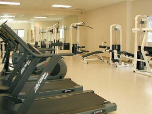 merchandise mart work out room