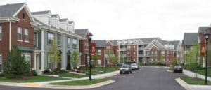 Georgetown square apartmente