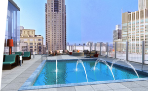 State and chestnut apartments chicago Pool