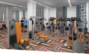 State and chestnut apartments chicago Workout room