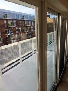 Apartment balcony at The Rhythm Apartments by Home Networks