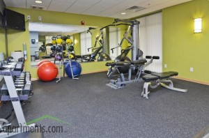 gaslight loft apartments - gym
