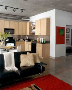 metrolofts kitchen