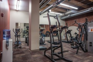Vangard Lofts work out facility