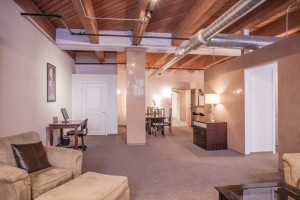 Vangard Lofts living space