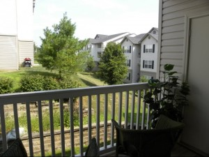 balcony view apartment at avion ridge